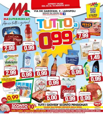 Le offerte dei supermercati del GROS